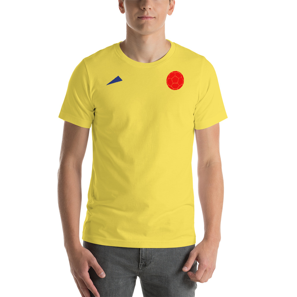 newest collection e3b6d 6d7bd Colombia Soccer - Short-Sleeve Unisex T-Shirt